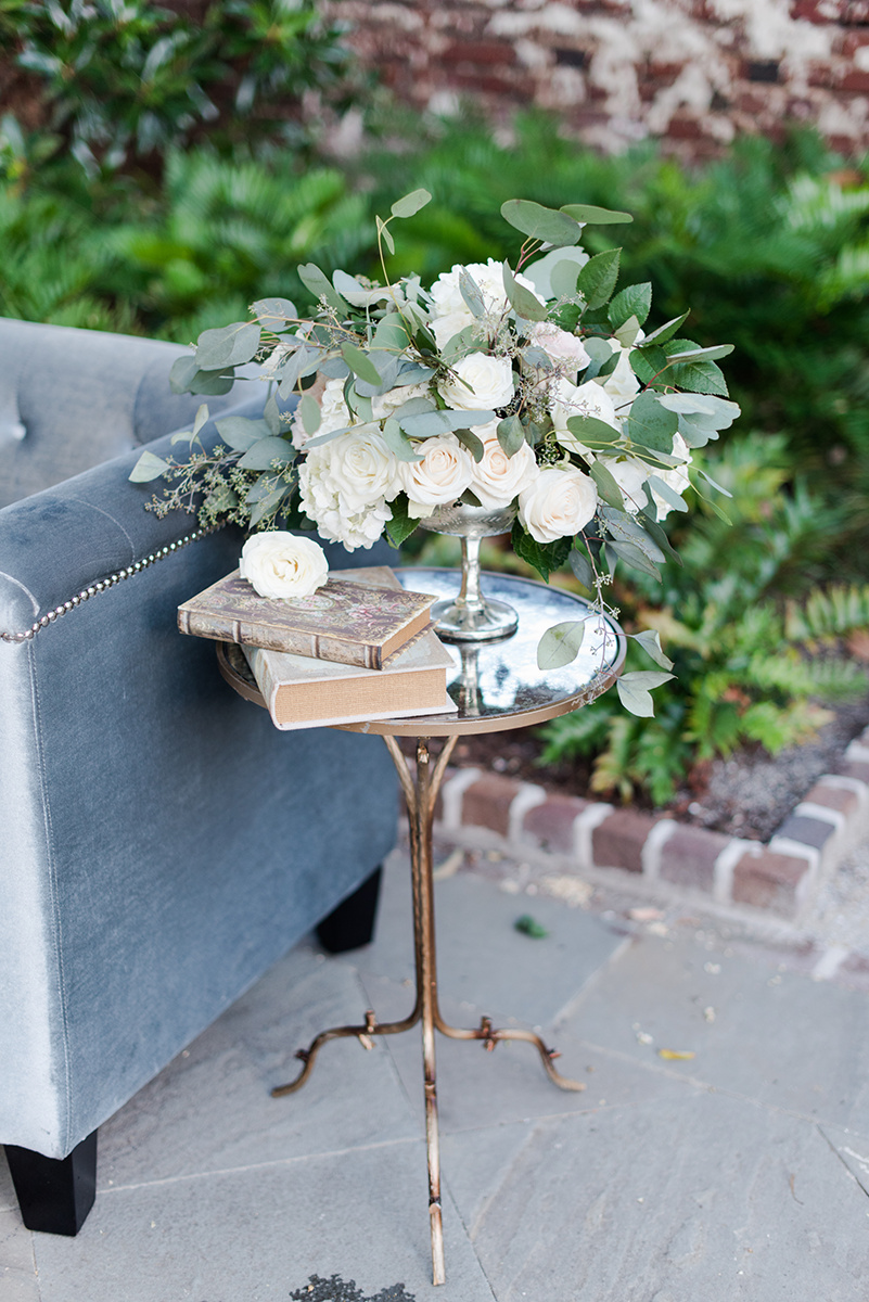 Black Tie Gadsden House wedding inspiration by Candi Leonard Photography