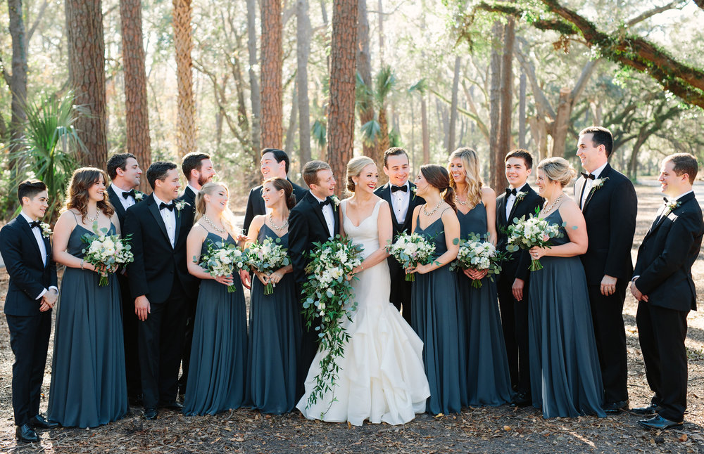 Hilton Head wedding at Sea Pines Resort
