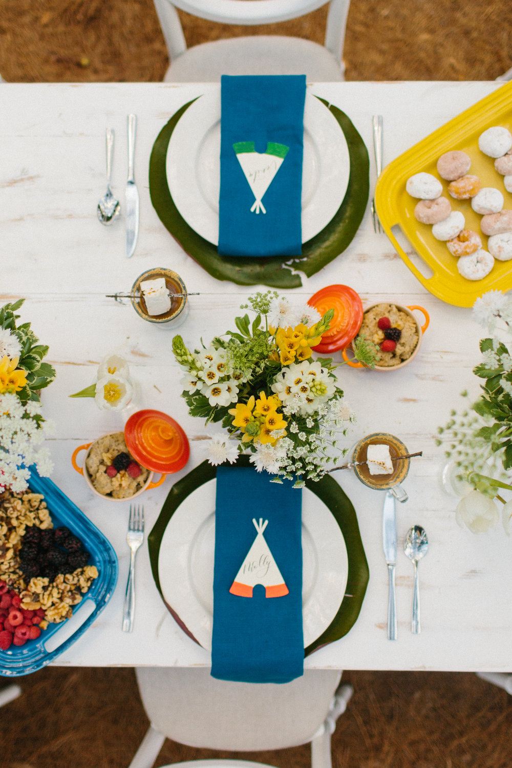 Summer Camp Wedding-inspiration at Lake House at Bulow