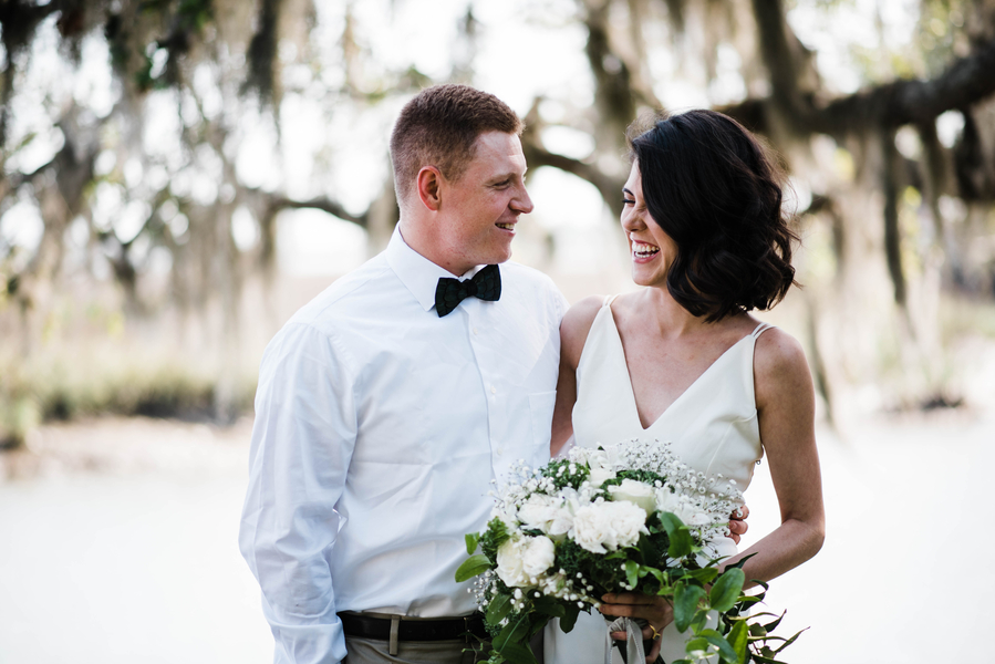 Savannah Wedding Elopement at The Dock House