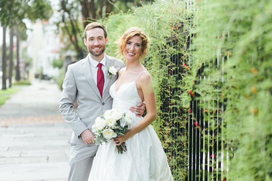 Charleston Wedding at White Point Gardens