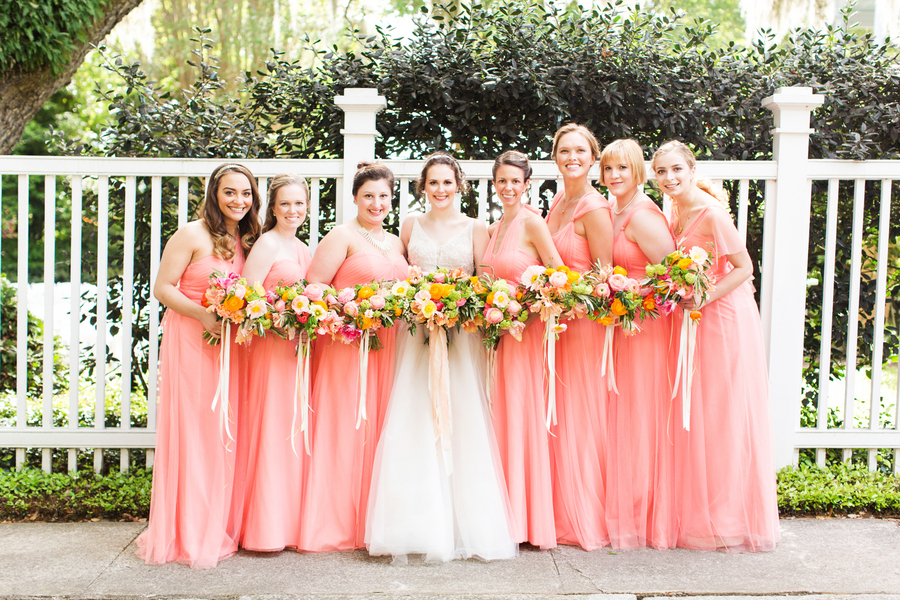 Spring Charleston wedding at The Governor Thomas Bennett House by Magnolia Photography