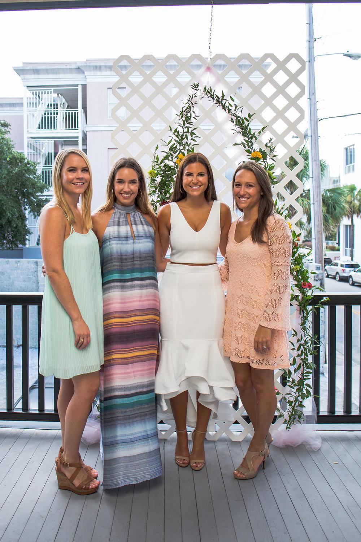 Charleston Bridesmaids Luncheon at The Warren Room