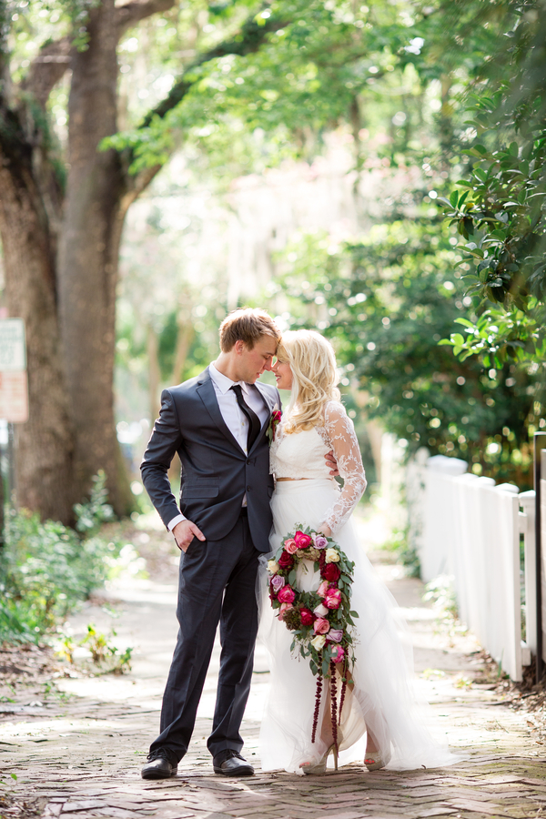 Vintage Savannah Wedding Inspiration at The Gingerbread House
