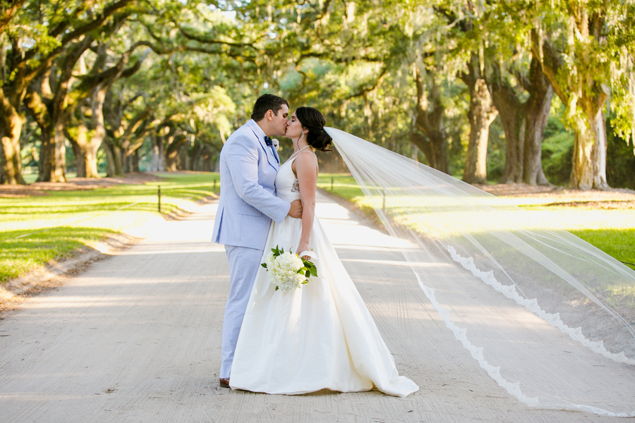 Katie & Jordan's South Carolina wedding at Boone Hall Plantation in Charleston