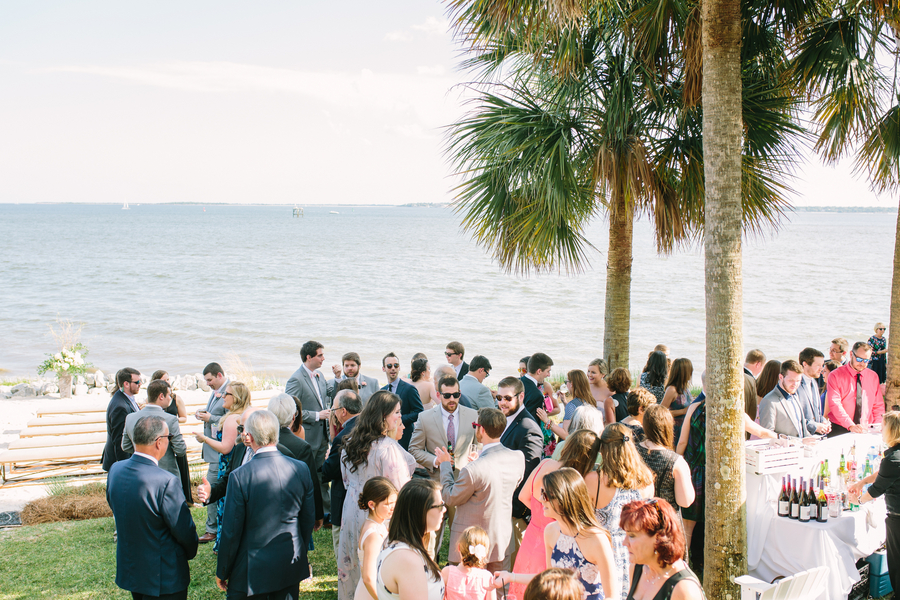 Charleston wedding at The Cottages on Charleston Harbor by Mac & B Events