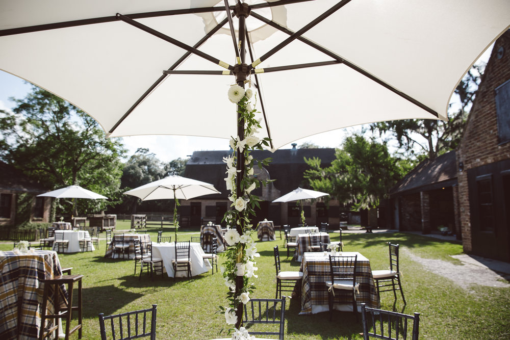 Alexis & Jason's Charleston wedding at Middleton Place by Engaging Events