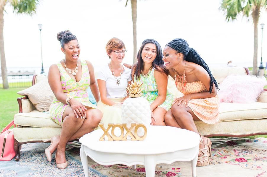 Sunny Bridal Shower in Charleston, South Carolina by Ashton Kelley Photography