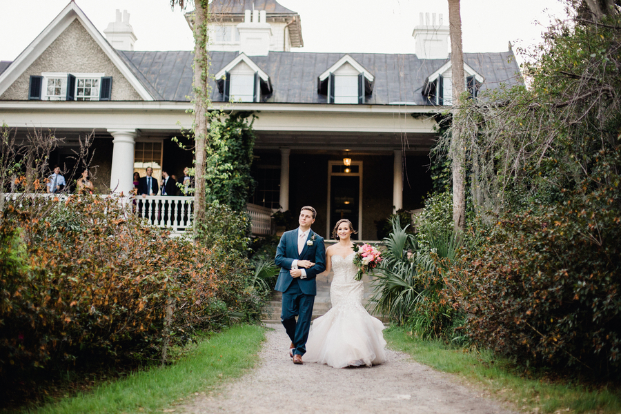 Brittany & Stephen's Charleston, South Carolina wedding at Magnolia Plantation & Gardens  //  Charleston wedding venue on A Lowcountry Wedding Magazine