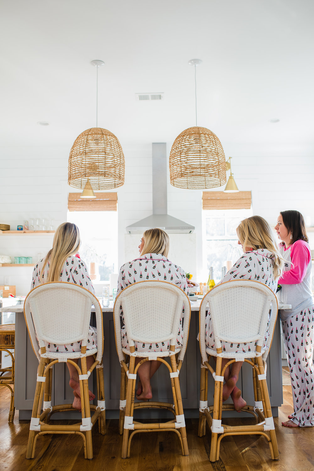 All girls slumber party for Valentines Day  //  designed by Liz Martin of The Charleston Weekend  //  on A Lowcountry Wedding Magazine