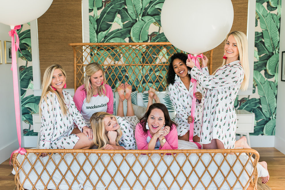 Galentine's Day Shoot at The Mylk Bar by The Petal Report