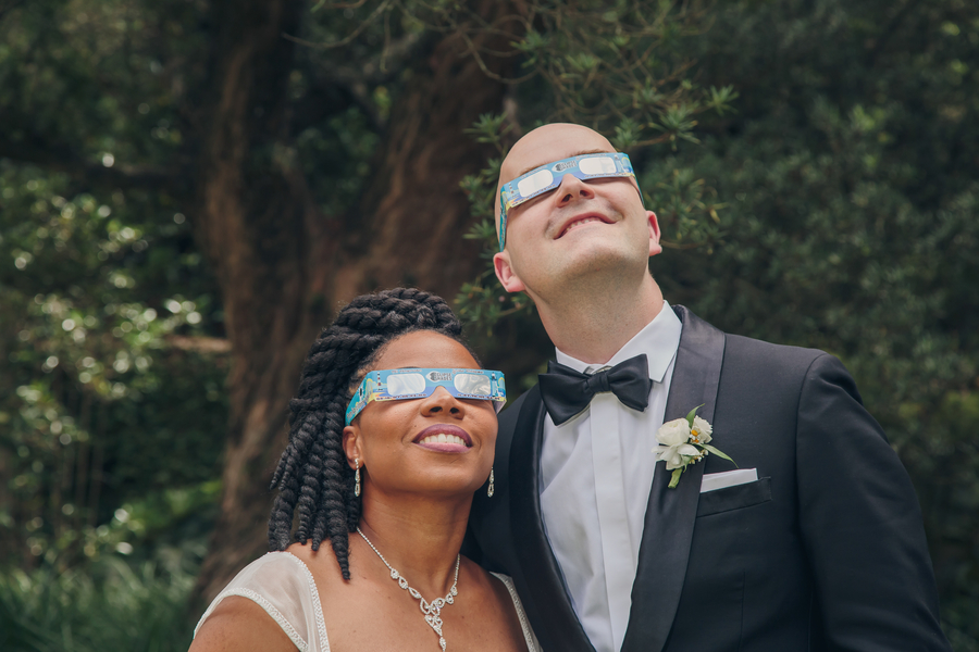 Great American Eclipse wedding at The William Aiken House in Charleston, SC  //  A Lowcountry Wedding Magazine & Blog