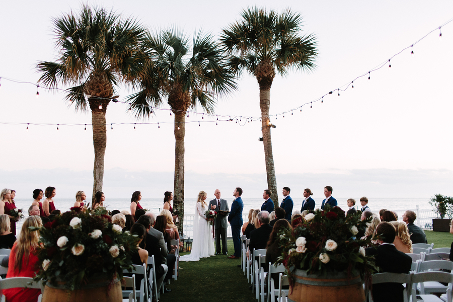 Deven & Justin's Oceanfront Lawn ceremony at King & Prince Resort wedding  //  Saint Simons Island, Georgia wedding venue  // A Lowcountry Wedding Magazine & Blog