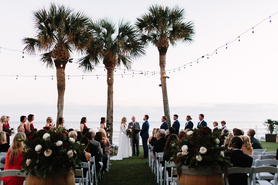 Deven & Justin's Oceanfront Lawn ceremony at King & Prince Resort wedding  //  Saint Simons Island, Georgia wedding venue  // A Lowcountry Wedding Magazine & Blog