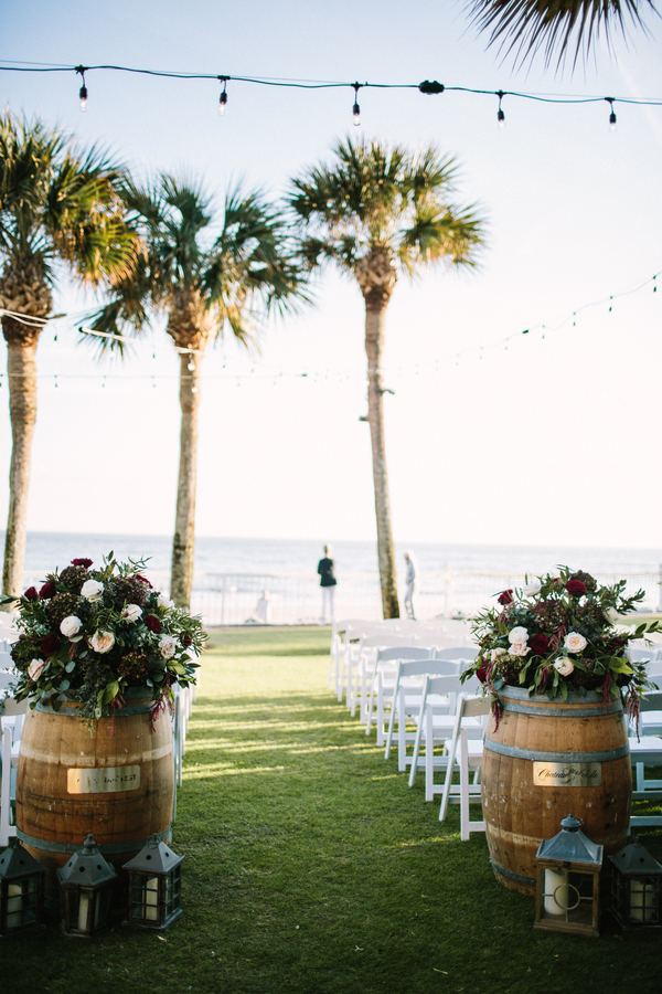 King & Prince Resort wedding ceremony on the Oceanfront Lawn //  Saint Simons Island, Georgia wedding venue  // A Lowcountry Wedding Magazine & Blog