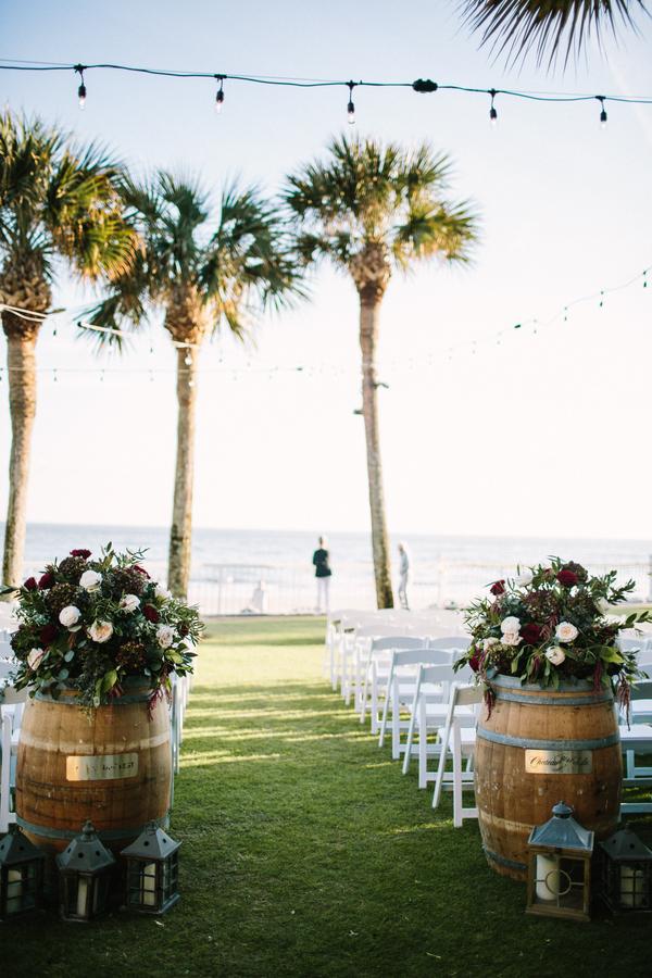 King & Prince Resort wedding ceremony on the Oceanfront Lawn //  Saint Simons Island, Georgia wedding venue  // A Lowcountry Wedding Magazine & Blog