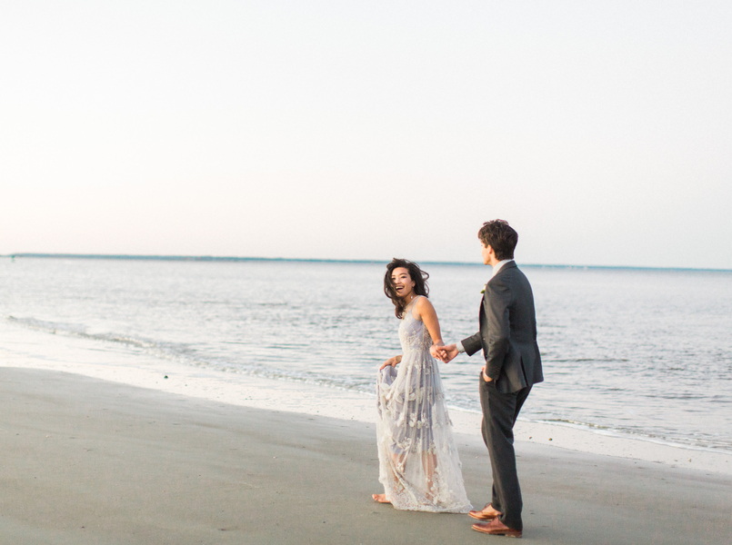 Intimate seaside elopement on Tybee Island  //  Savannah wedding photos by Dee Carlin Photography  //  on A Lowcountry Wedding Magazine & Blog
