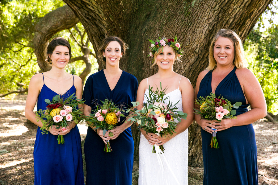 Pre-ceremony photos at Hampton Park //  Charleston wedding photography by Jeanne Mitchum Photography // on A Lowcountry Wedding Magazine & Blog
