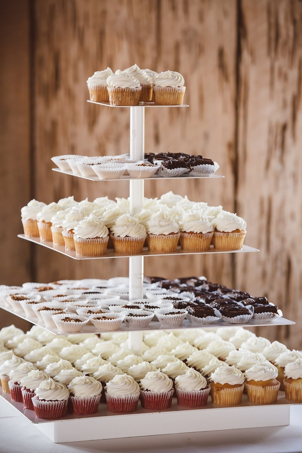 Cupcake tower  //  Charleston wedding photos by amelia + dan photography  //  A Lowcountry Wedding Magazine & Blog