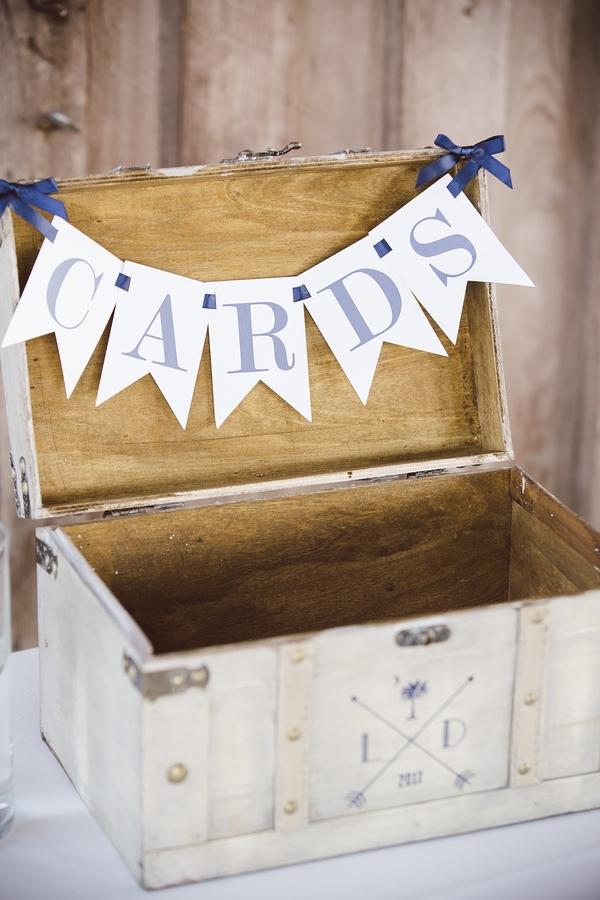 Card box at The Cotton Dock  //  Charleston wedding photos by amelia + dan photography  //  A Lowcountry Wedding Magazine & Blog