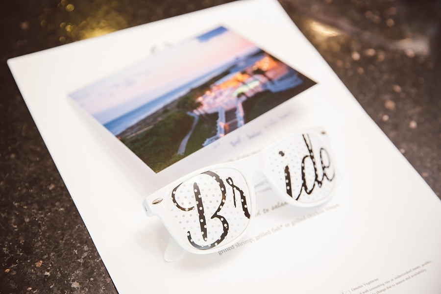 Bride sunglasses  //  Charleston wedding photos by amelia + dan photography  //  A Lowcountry Wedding Magazine & Blog