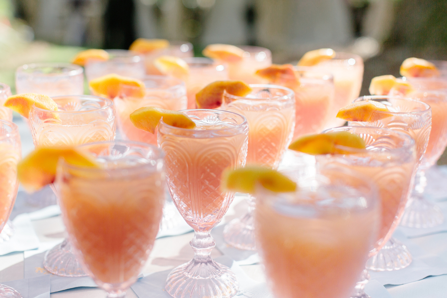 Specialty cocktails by Serve! Catering and Events //  Charleston wedding photographer Riverland Studios  //  A Lowcountry Wedding Magazine & Blog