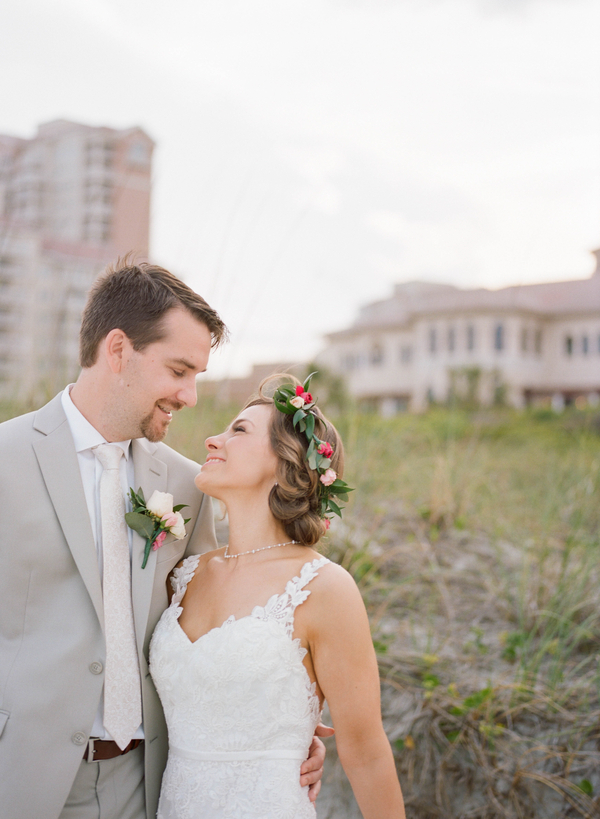 Wedding portraits at Grande Dunes Ocean Club  //  Myrtle Beach wedding photos by Gillian Claire Photography  //  A Lowcountry Wedding Magazine & Blog