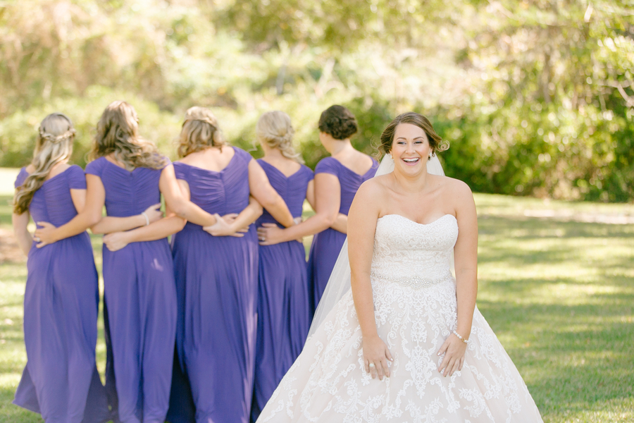 Bridesmaids first look  //  A Lowcountry Wedding Magazine & Blog