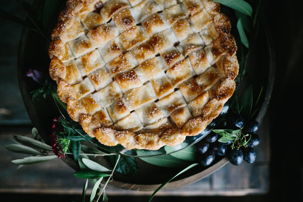 Apple pie from ABCD Cakes at Leon's Oyster Shed  //  Charleston photos by Elizabeth Ervin  //  A Lowcountry Wedding Magazine & Blog