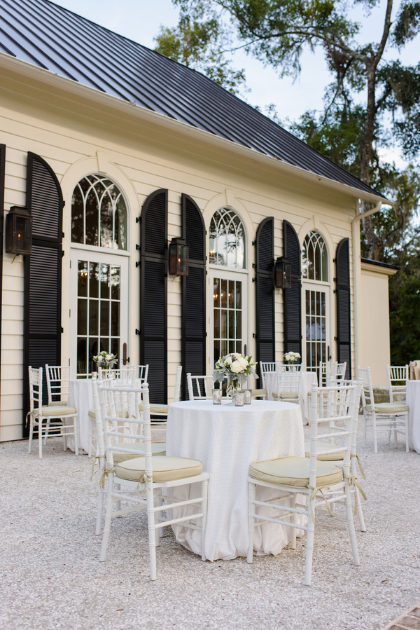 Outdoor reception seating at Palmetto Bluff in Bluffton, South Carolina designed by Todd Events  //  Hilton Head Island wedding photos by Donna Von Bruening  //  A Lowcountry Wedding Magazine & Blog