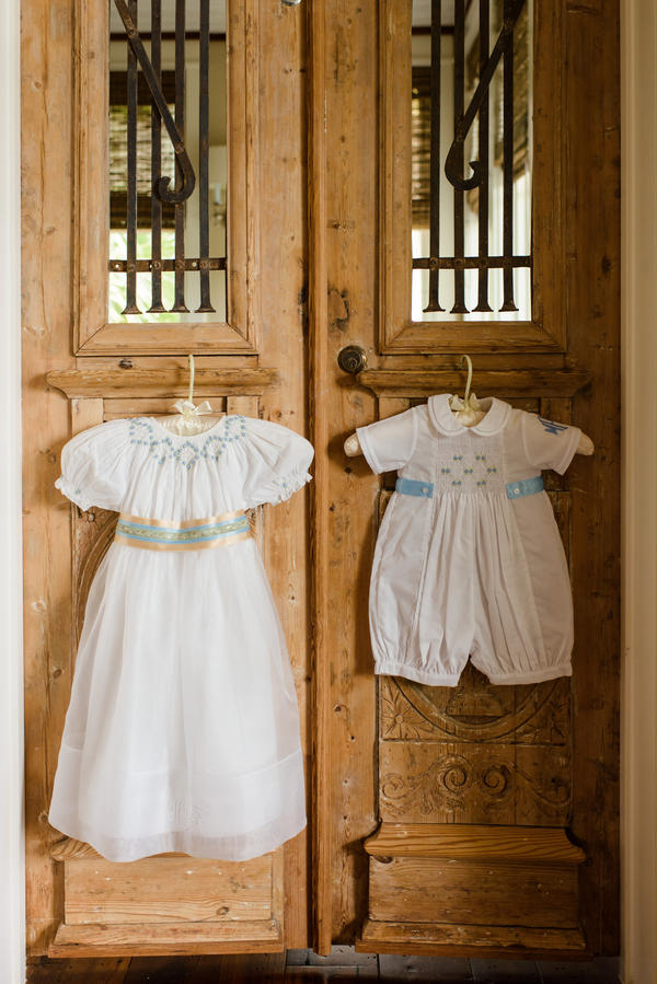 Southern attire for Flower girl and ring bearer   //  Hilton Head Island wedding photos by Donna Von Bruening  //  A Lowcountry Wedding Magazine & Blog
