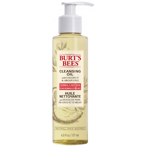 Wedding beauty products - Burt's Bees Cleansing Oil