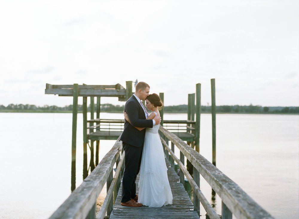 Addy & Will's Island House wedding on Johns Island, South Carolina