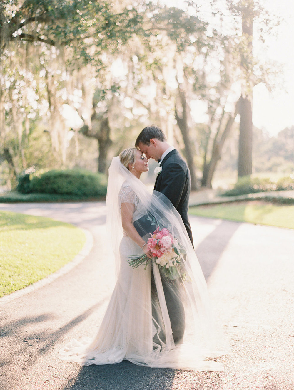 Brooke & Ryan's Oldfield club wedding portraits by Landon Jacob  //  A Lowcountry Wedding Magazine