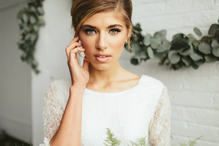Makeup by Jami  //  Charleston wedding hair & makeup  //  A Lowcountry Wedding Magazine
