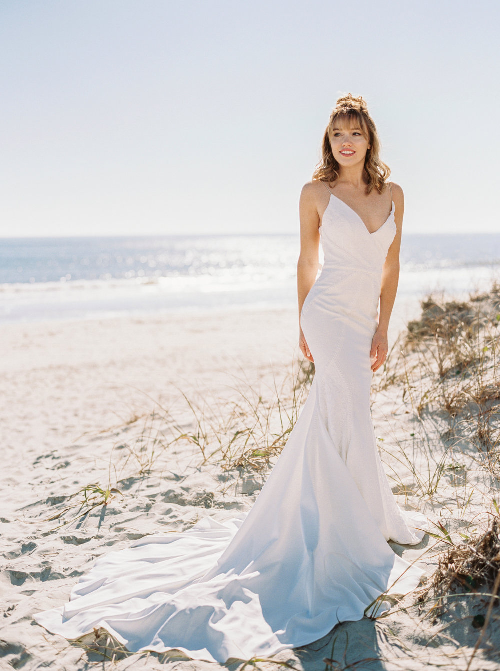 Bridal Fashion Editorial at Huntington Beach State Park's Atalaya Castle in Murrells Inlet, SC  //  Charleston wedding gown from Lovely Bride  //  Photographed by JoPhoto  //  Styled by The Petal Report  //  A Lowcountry Wedding Magazine & Blog