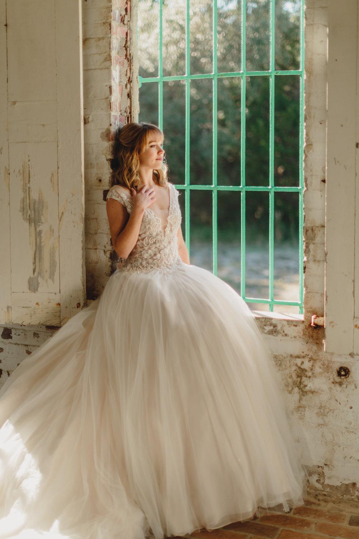 Gown from  Verità. A Bridal Boutique  in  Mount Pleasant, SC.