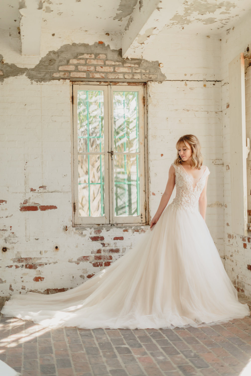 Verita. Bridal gown at Atalaya Castle // Photographed by JoPhoto // Event Styling by The Petal Report  // A Lowcountry Wedding Magazine
