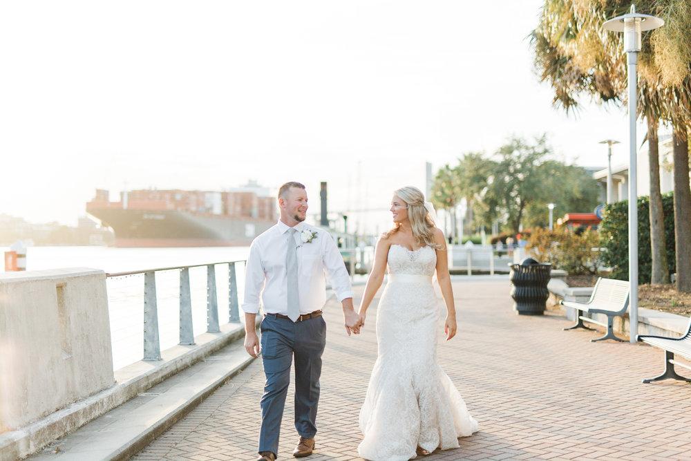 Westin Savannah Wedding by Danielle George Photography  //  A Lowcountry Wedding Magazine