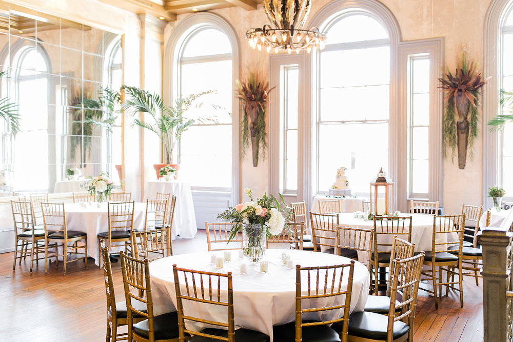 Garibaldi's Cafe wedding reception in Savannah GA by Jb Marie Photography