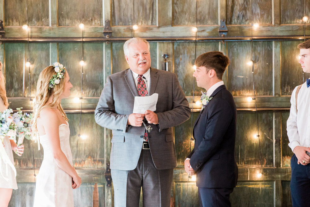 Savannah wedding ceremony at Soho South Cafe by Apt B Photography  //  A Lowcountry Wedding Magazine