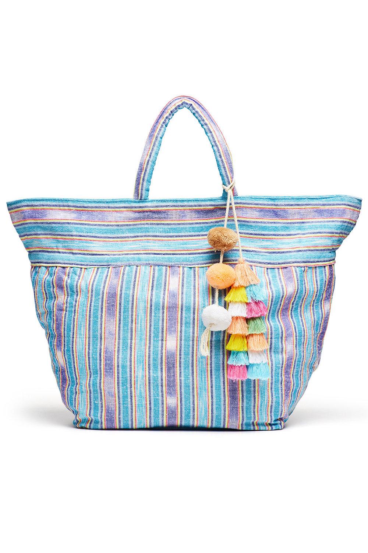 JADEtribe Blue Samui Stripe Bag