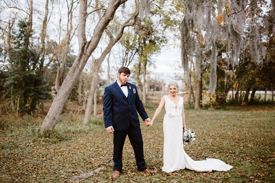 Megan & Taylor's Red Gate Farms wedding in Savannah, GA by SDPhotographs