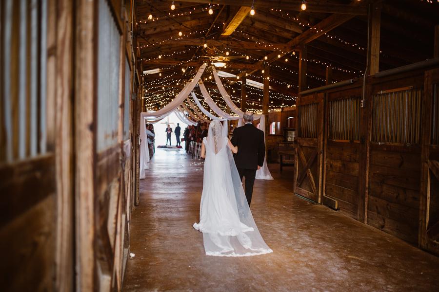 Barn wedding at Red Gate Farms in Savannah, GA  //  A Lowcountry Wedding Magazine