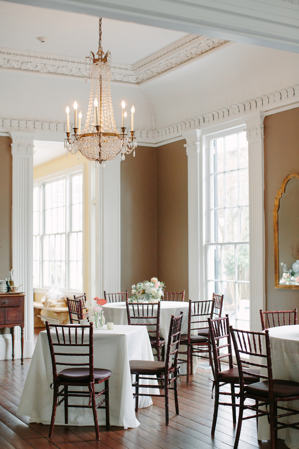 Wickliffe House wedding reception in Charleston SC, photography by Riverland Studios  //  A Lowcountry Wedding Magazine