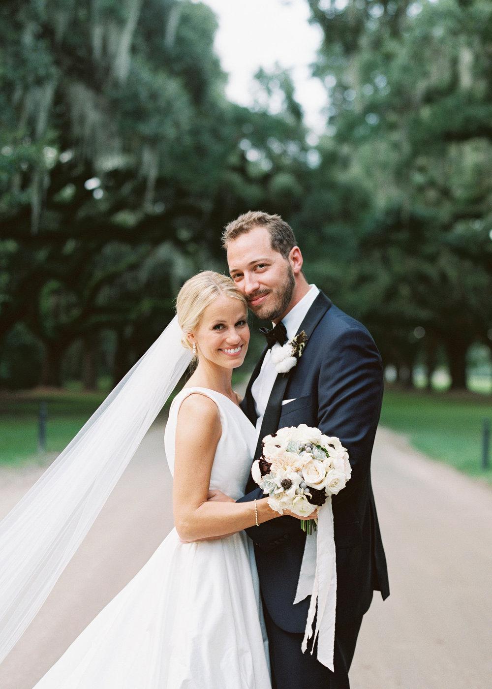 Ashley & Adam's wedding at Boone Hall Plantation  //  Wedding photography by Landon Jacob  //  A Lowcountry Wedding Magazine