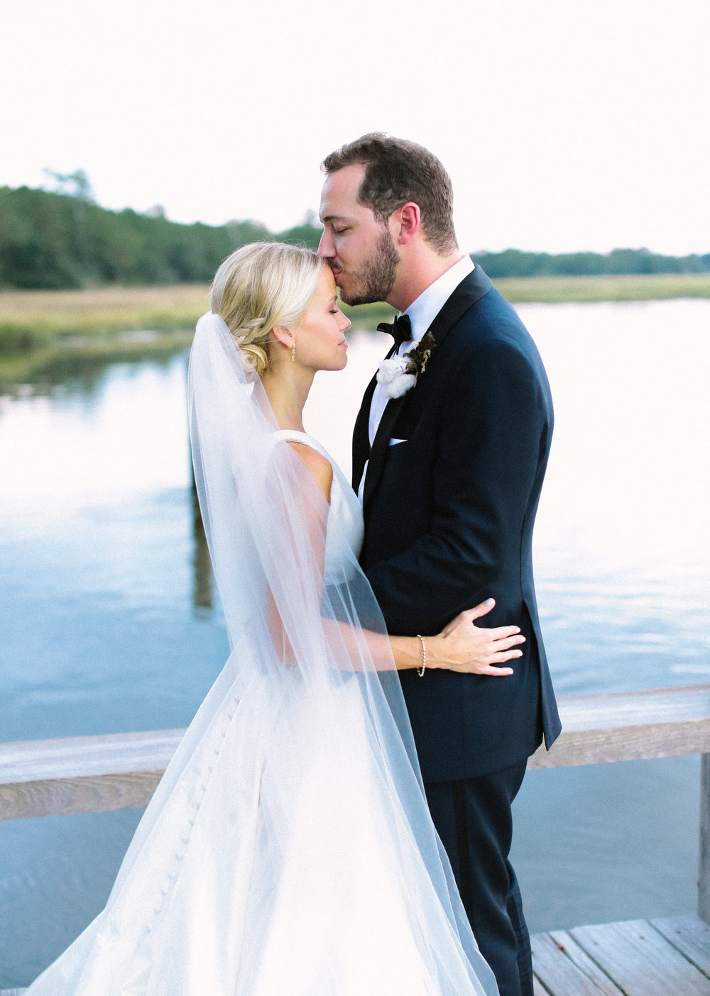 Wedding portraits at The Cotton Dock in Charleston SC  //  Wedding photography by Landon Jacob  //  A Lowcountry Wedding Magazine
