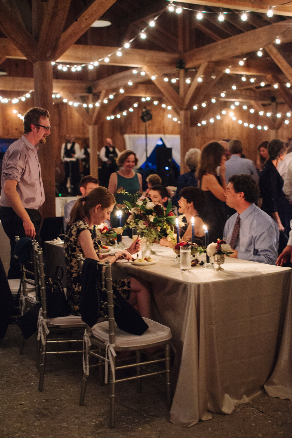 Cotton Dock wedding reception in Charleston SC  //  photographed by Landon Jacob  //  A Lowcountry Wedding Magazine