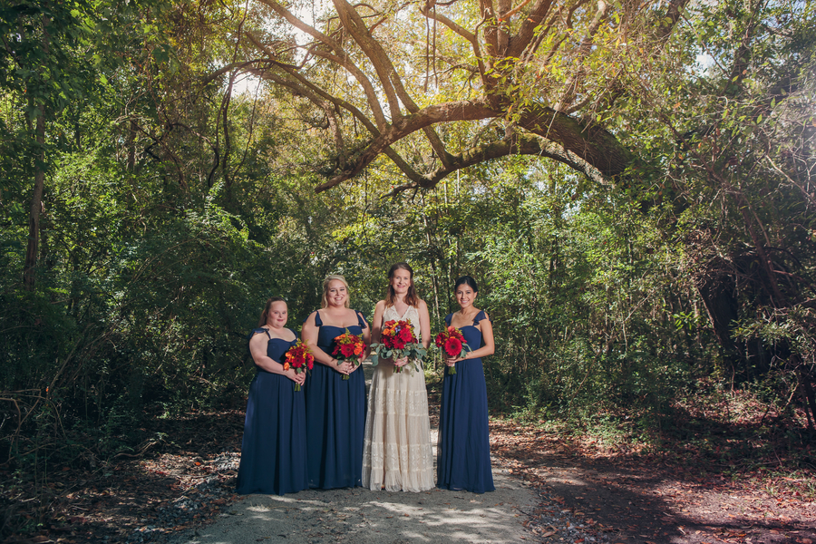 Edisto Hall wedding at James Island County Park in Charleston, SC by Richard Bell Photography