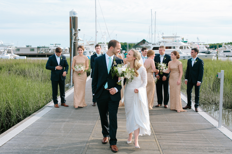 Historic Rice Mill Building wedding in Charleston, SC  //  A Lowcountry Wedding Magazine
